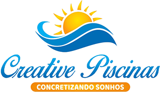 Logotipo Creative Piscinas